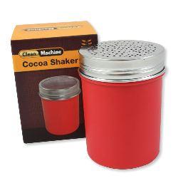 Cocoa shaker red plastic, coarse – Clean Machine