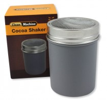 Cocoa shaker silver plastic, coarse – Clean Machine