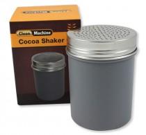 Cocoa shaker silver plastic, fine – Clean Machine