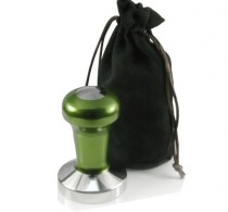 Coffee tamper 58mm stainless flat green – Protamp