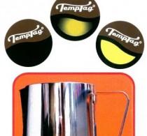 Milk Jug Thermometer, 12 x TempTags – 4 Full, 4 Skim & 4 Soy