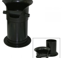 Coffee knock tube commercial 350mm removable top