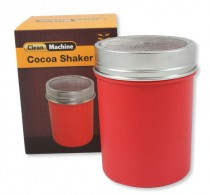 Cocoa shaker red plastic, fine – Clean Machine