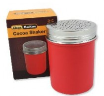 Cocoa shaker red plastic, coarse – Clean Machine