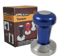 Coffee tamper 58mm stainless flat blue – Protamp